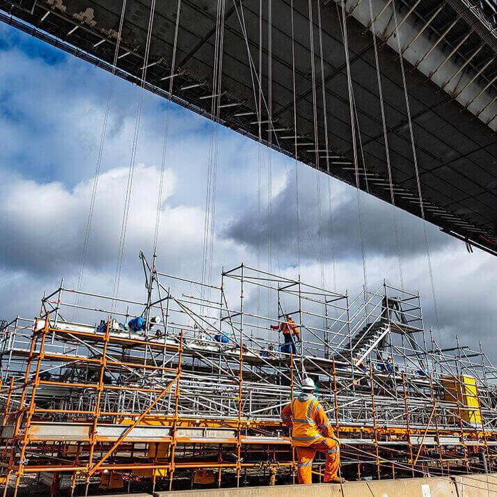 BASE Industries shows its versatility on Westgate Bridge project